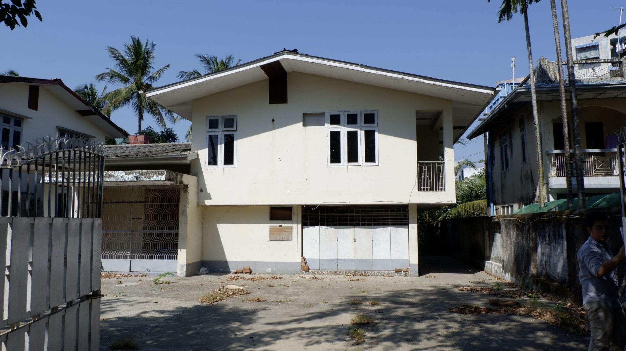 House in Thingangyun Township