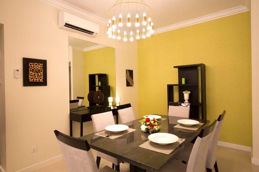 Inside Pyay Garden Residence