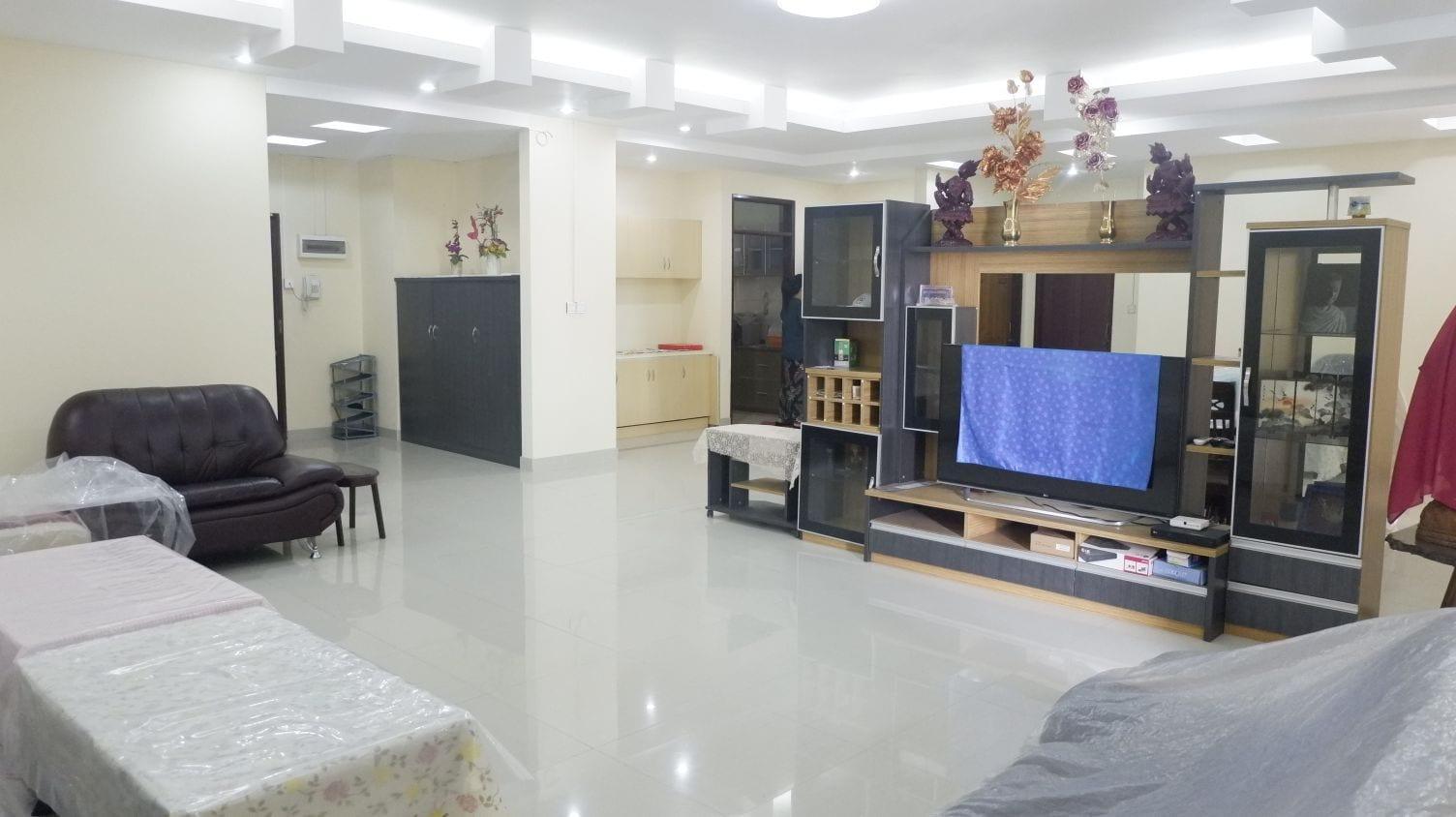 Three-Bedroom Condo in Mayangone
