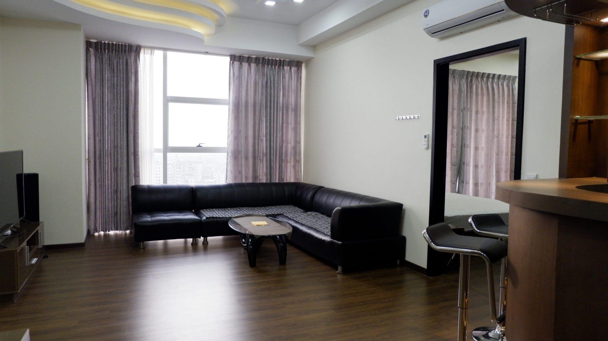 Two-Bedroom Condo in Sanchaung