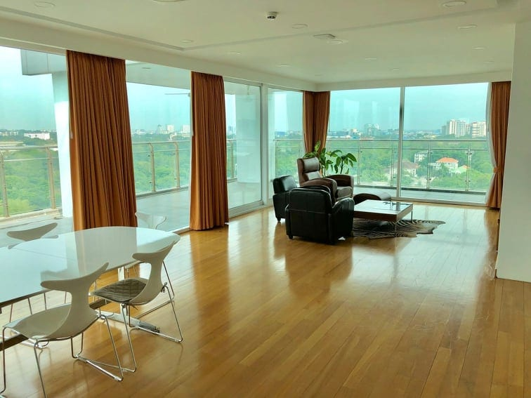 Two-Bedroom Penthouse in Sanchaung