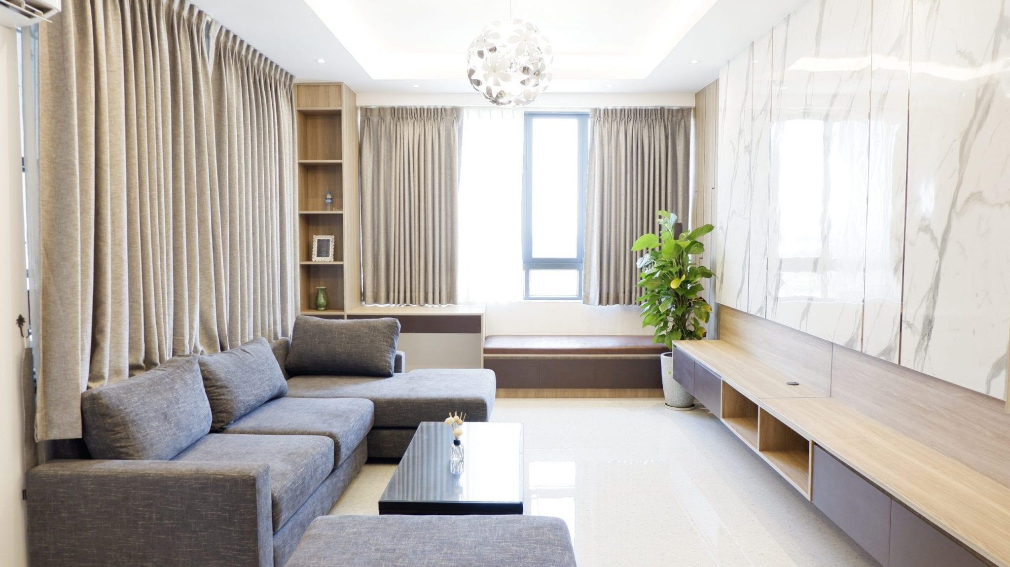 Three-Bedroom Condo in Hlaing
